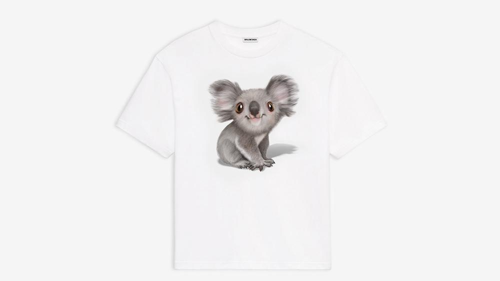 Balenciaga's Australia Bushfire Disaster Koala Hoodie and T-shirt