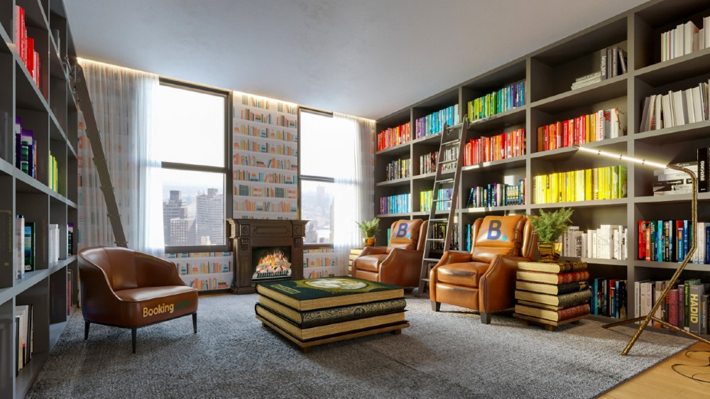 Booking.com limited-edition suite New York City