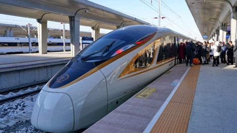 The Jingzhang intercity railway