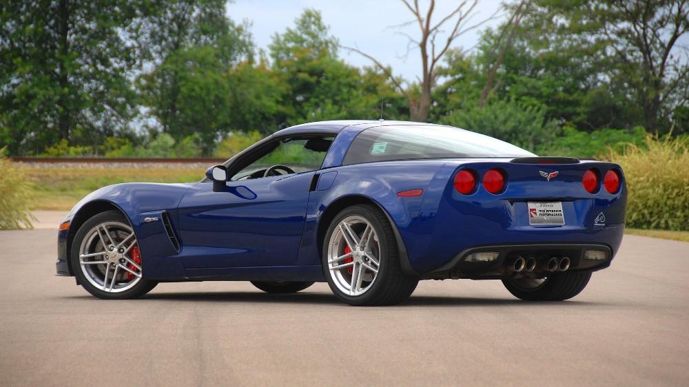 The 2005 Chevrolet C6 Corvette Z06 'Blue Devil'