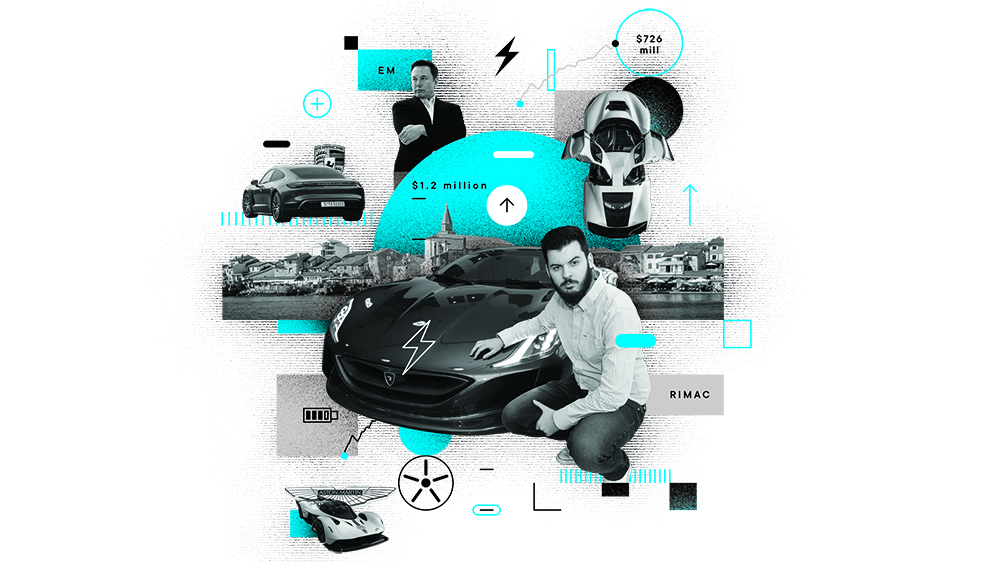 Mate Rimac collage