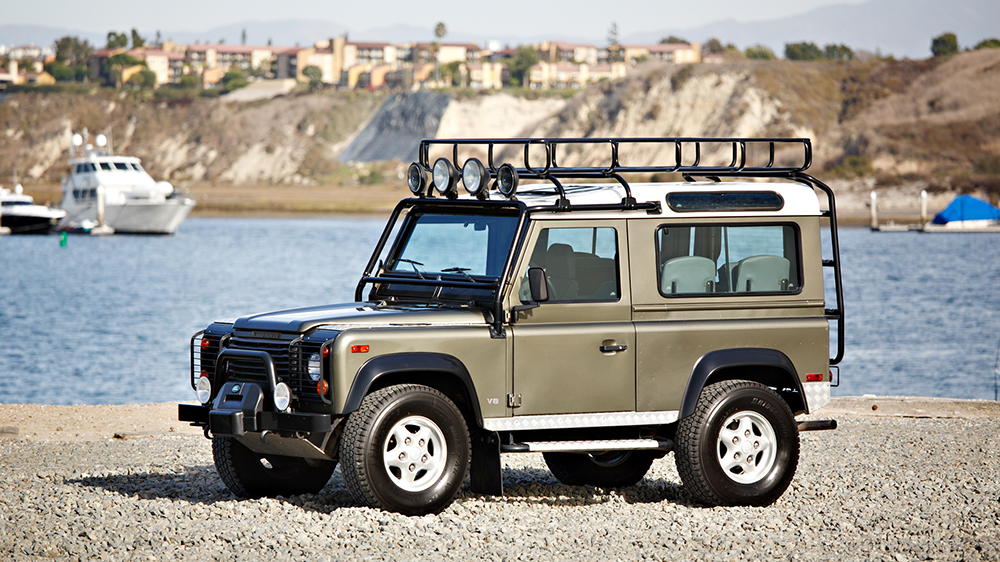 The 1997 Land Rover NAS Defender 90 Limited Edition