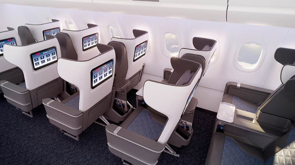 Delta's new first class seats
