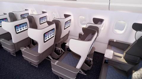 Delta's new first class seats