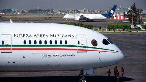 Mexico's presidential plane