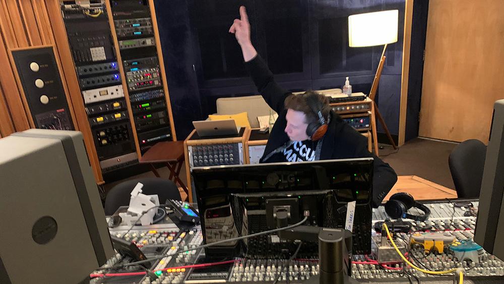 Elon Musk in Studio
