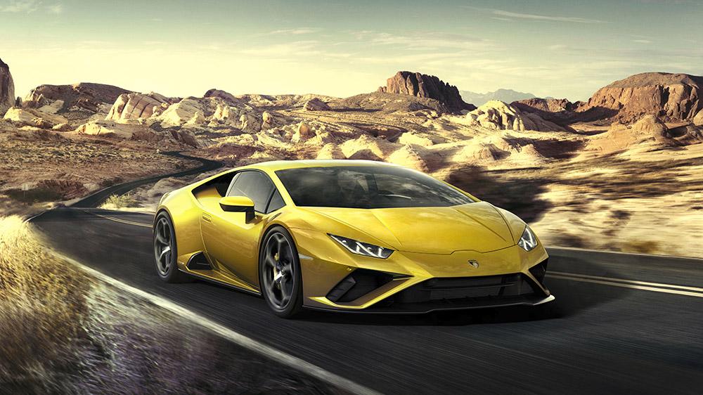The 2020 Lamborghini Huracán Evo RWD