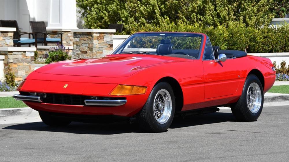 A 1971 Ferrari Daytona Spider conversion.