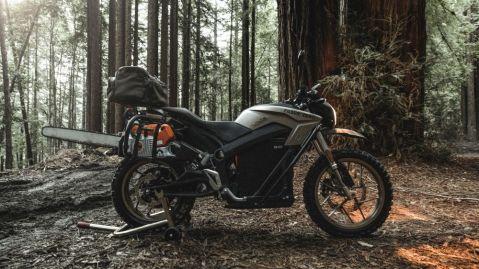 Filson x Zero Electric Motorcycle
