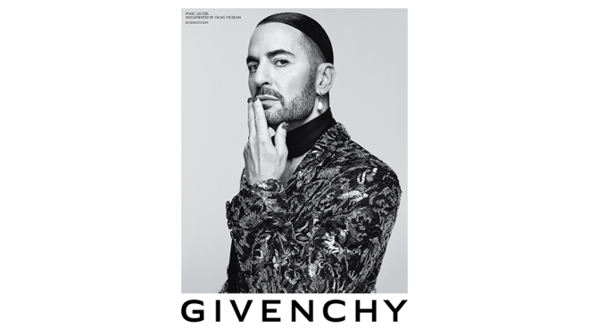 Givenchy SS20 Campaign Marc Jacobs
