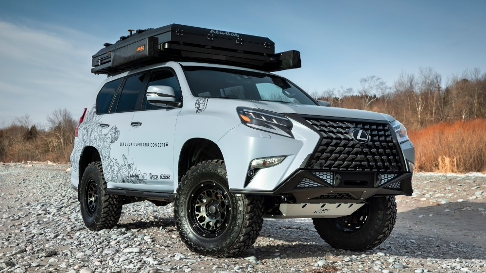 Lexus Canada's GX Overland SUV concept
