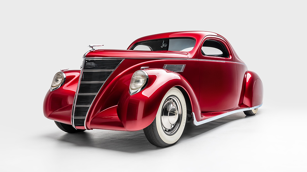 "The 1937 Lincoln Zephyr ""Voodoo Priest"""