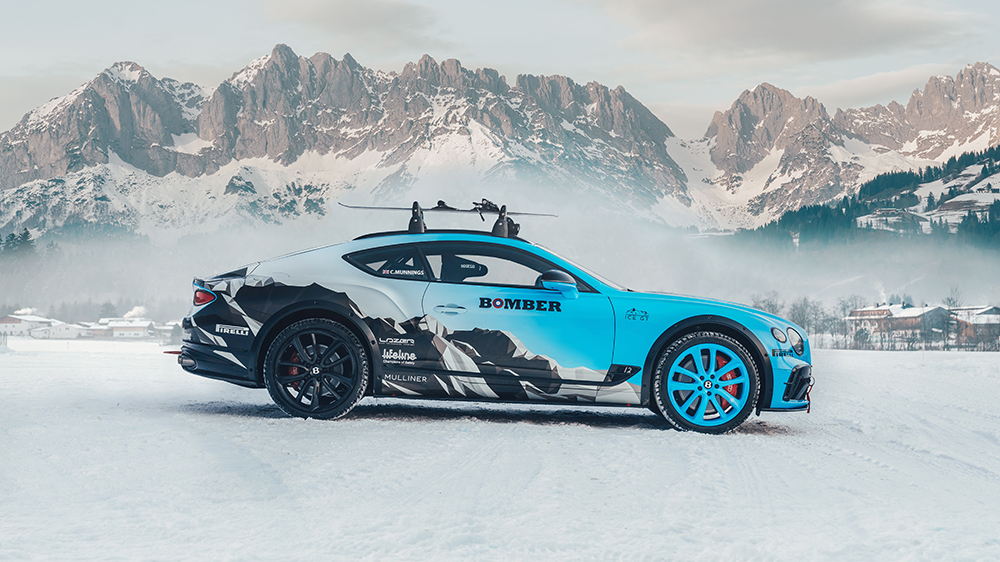 Bentley's ice-ready Continental GT