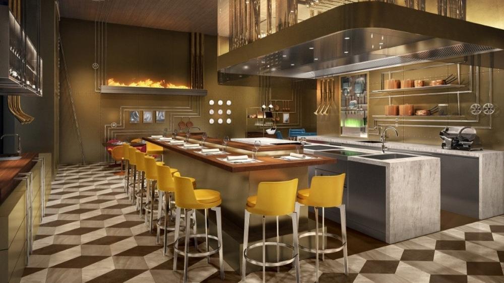 Le Café V in the soon-to-open Louis Vuitton Maison Osaka Midosuji