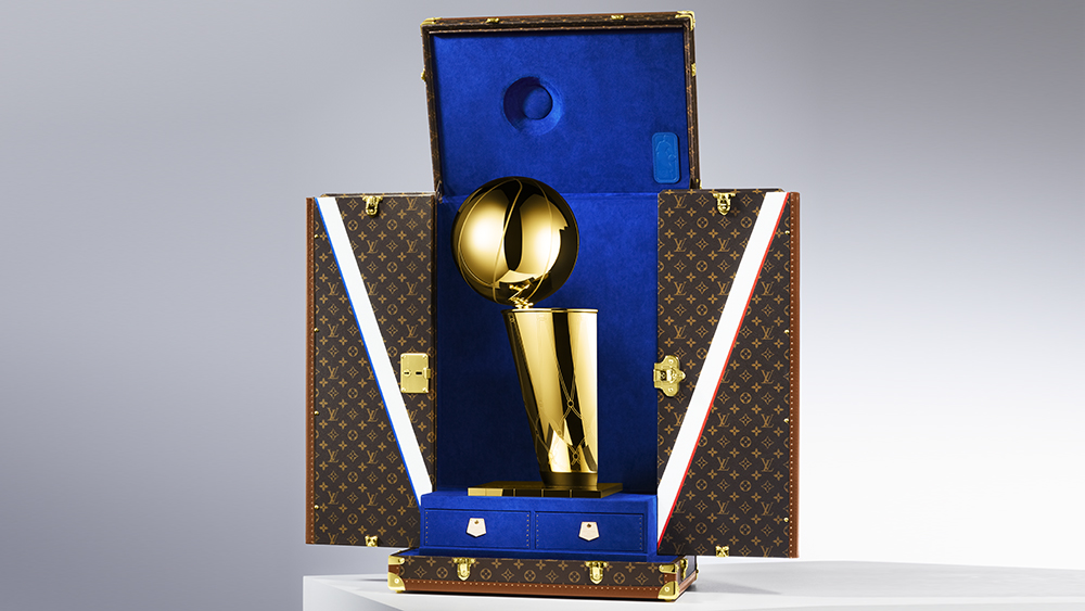 Louis Vuitton x NBA Trophy Case