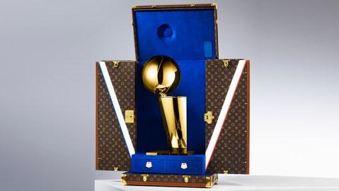 Louis Vuitton x NBA Trophy Case