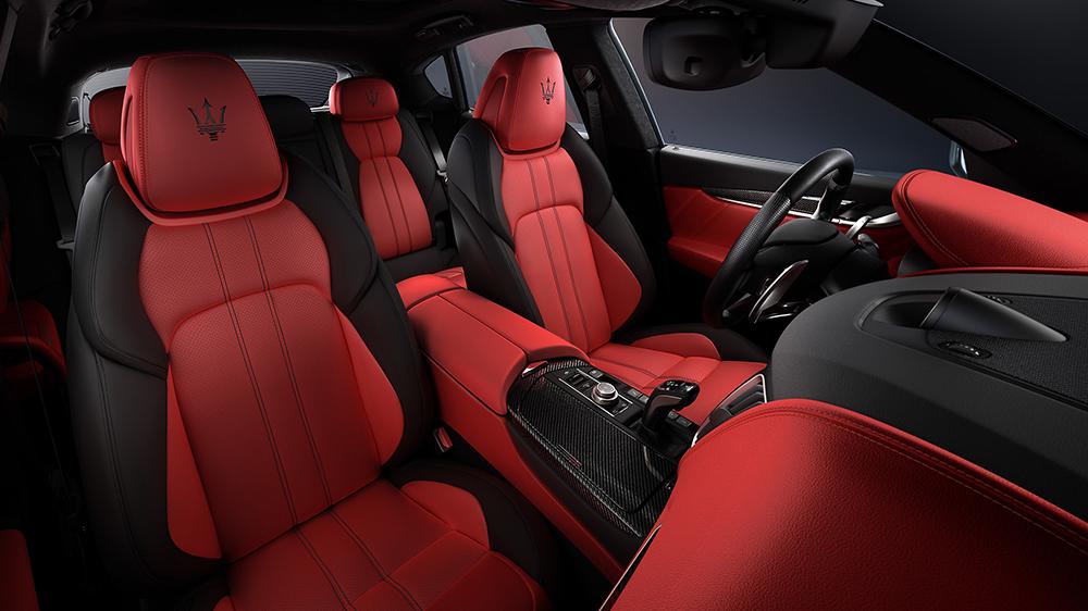 Inside the 2020 Maserati Levante Edizione Ribelle edition