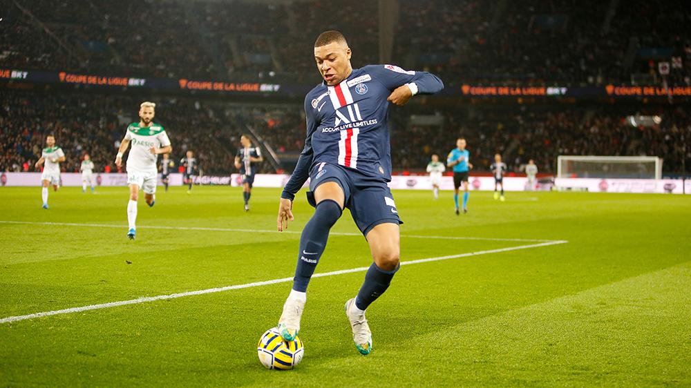 PSG and France forward Kylian Mbappé