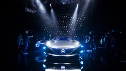 Mercedes-Benz concept car 'Vision AVTR'