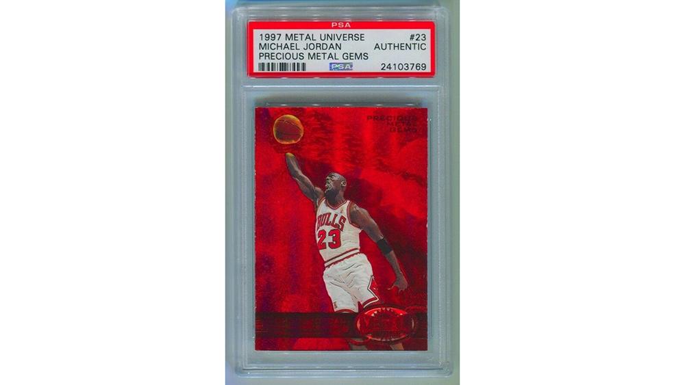 Michael Jordan card Ebay