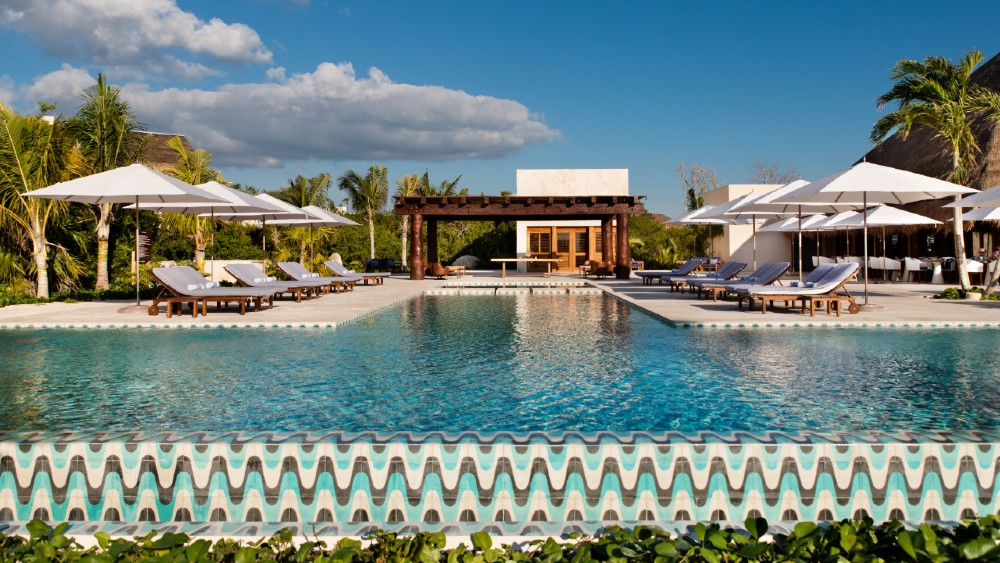 Chable Maroma Mexico wellness pool