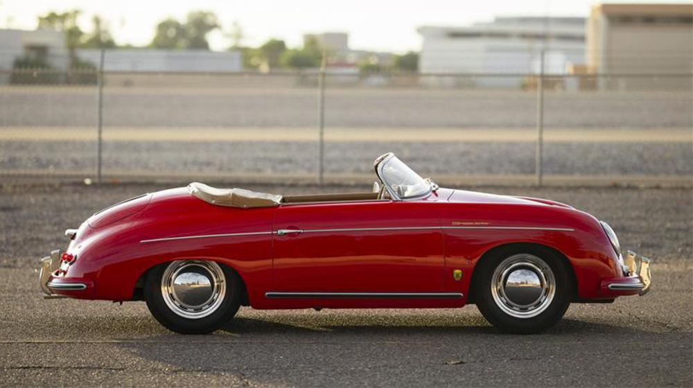 This1 956 Porsche 356 Speedster fetched $258,000 in Scottsdale.