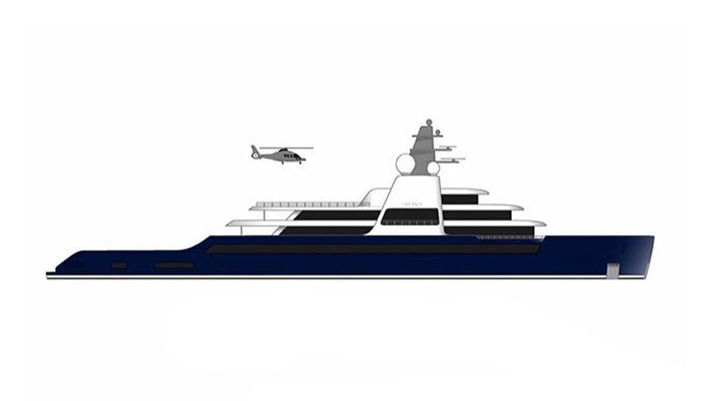"""A concept drawing of Lloyd Werft's """"Project Solaris"""" by Guillaume Conti"""