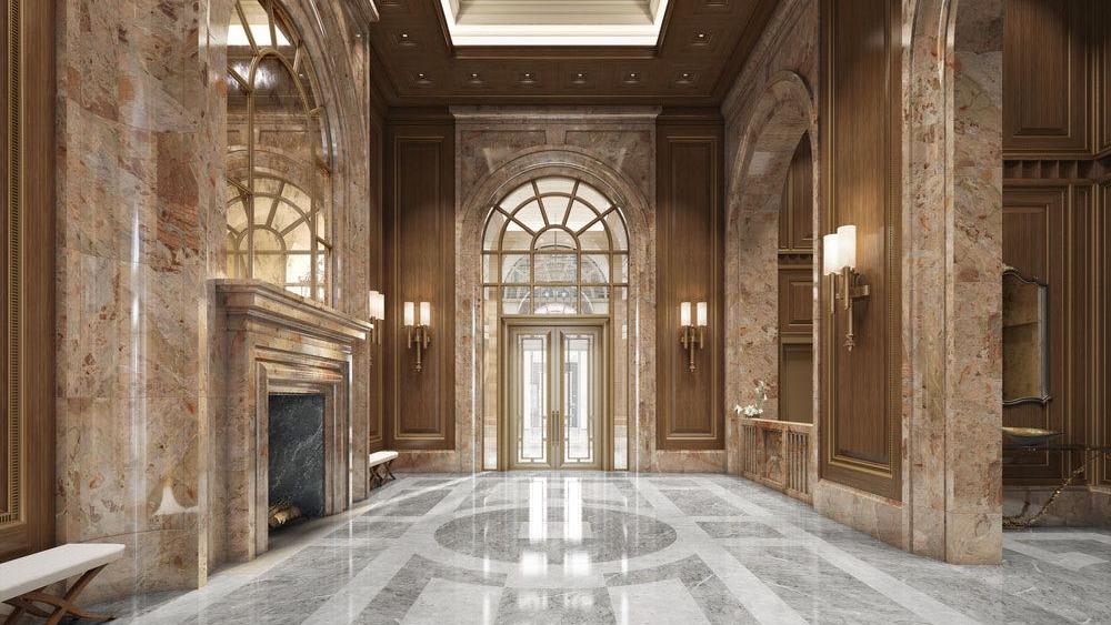 Lobby of 520 Park Avenue