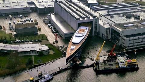 Royal Huisman's Sea Eagle II