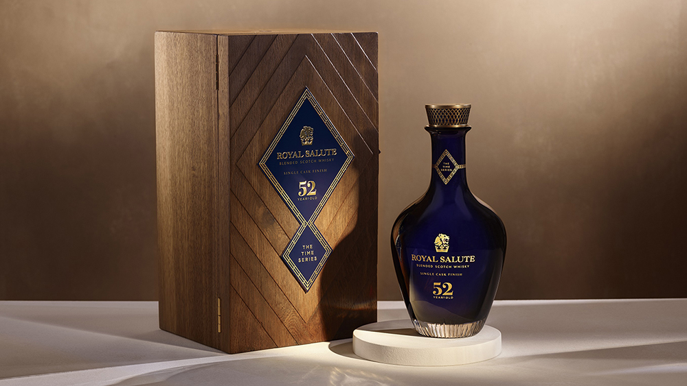 Royal Salute's Time Series 52 Year Old Single Cask Finish