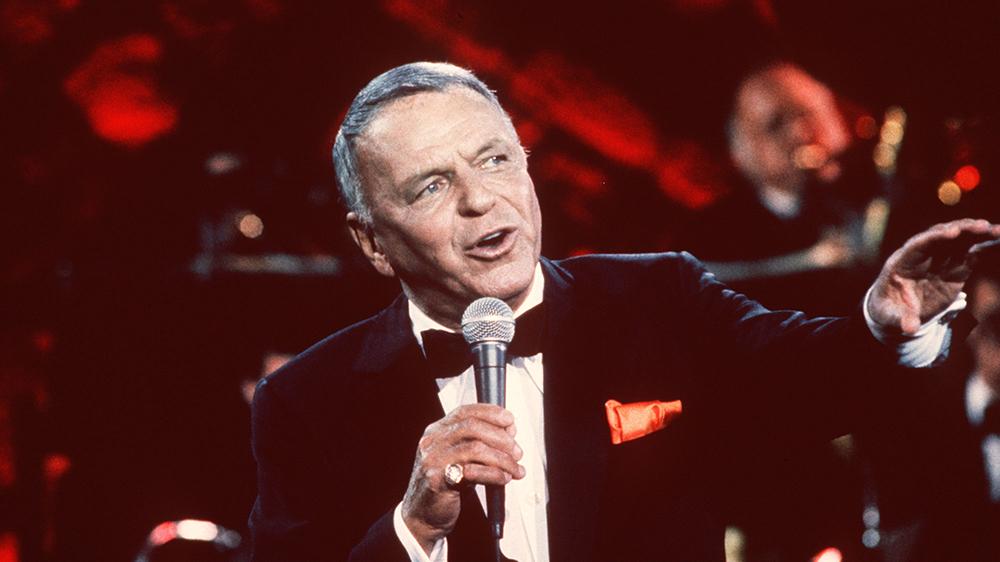 Frank Sinatra in 1982