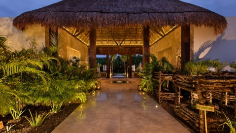 Chable Maroma Mexico wellness spa