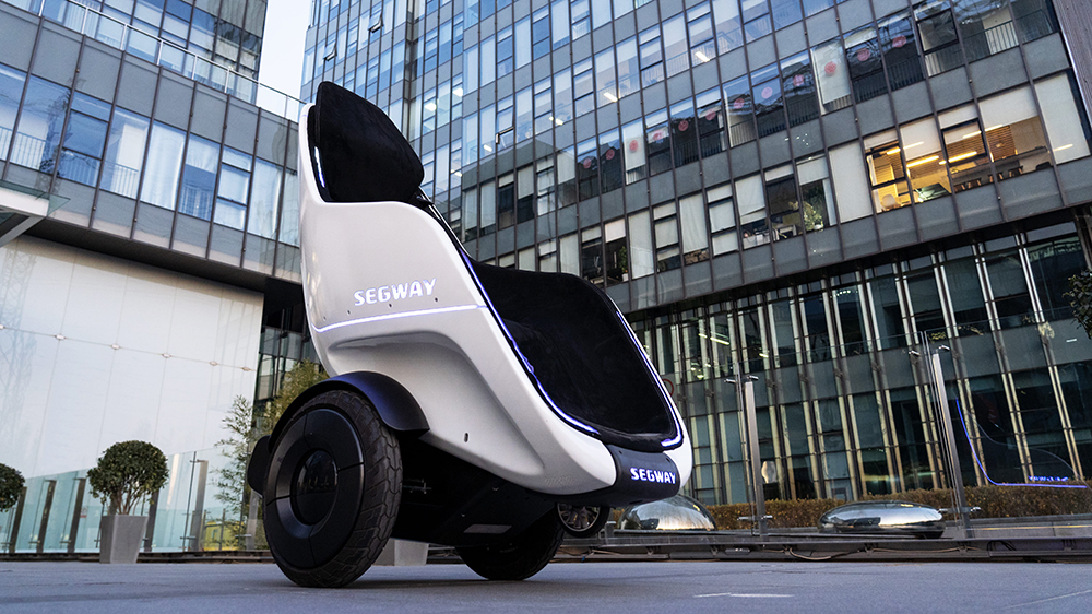 Segway-Ninebot's New S-Pod personal transporter