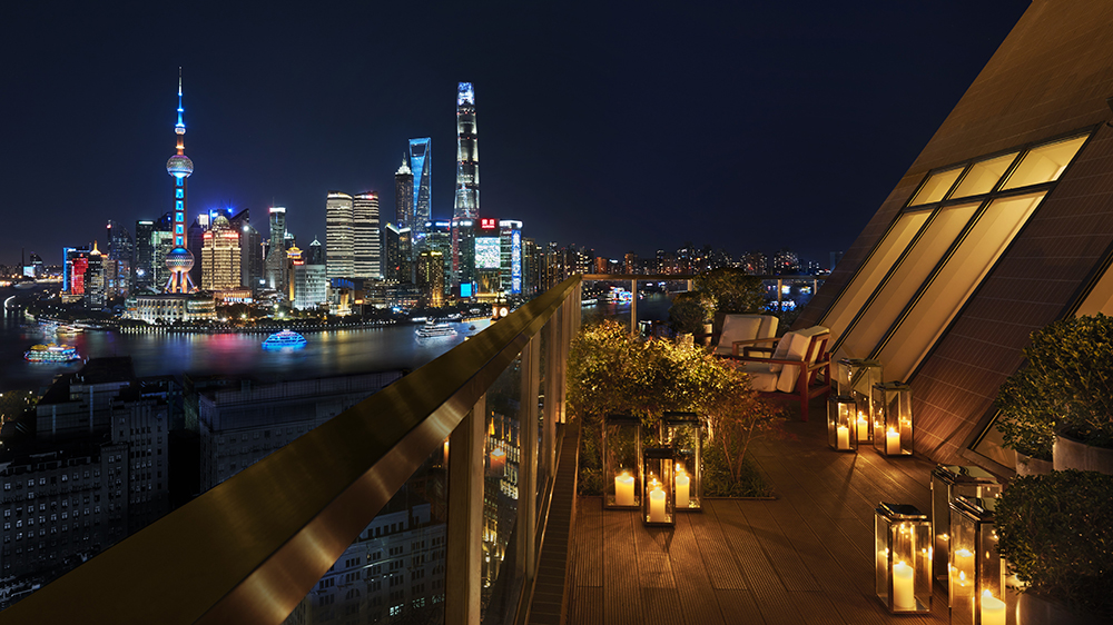 The Shanghai Edition rooftop