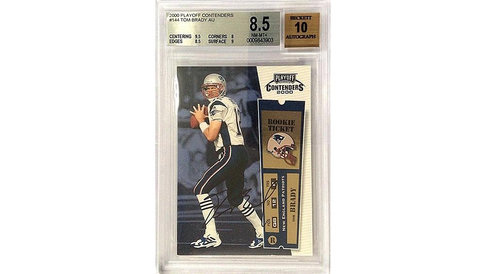 Tom Brady card Ebay