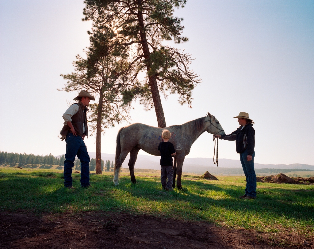 horses at Paws Up