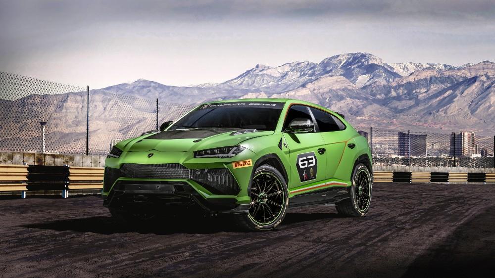 The Lamborghini Urus ST-X concept