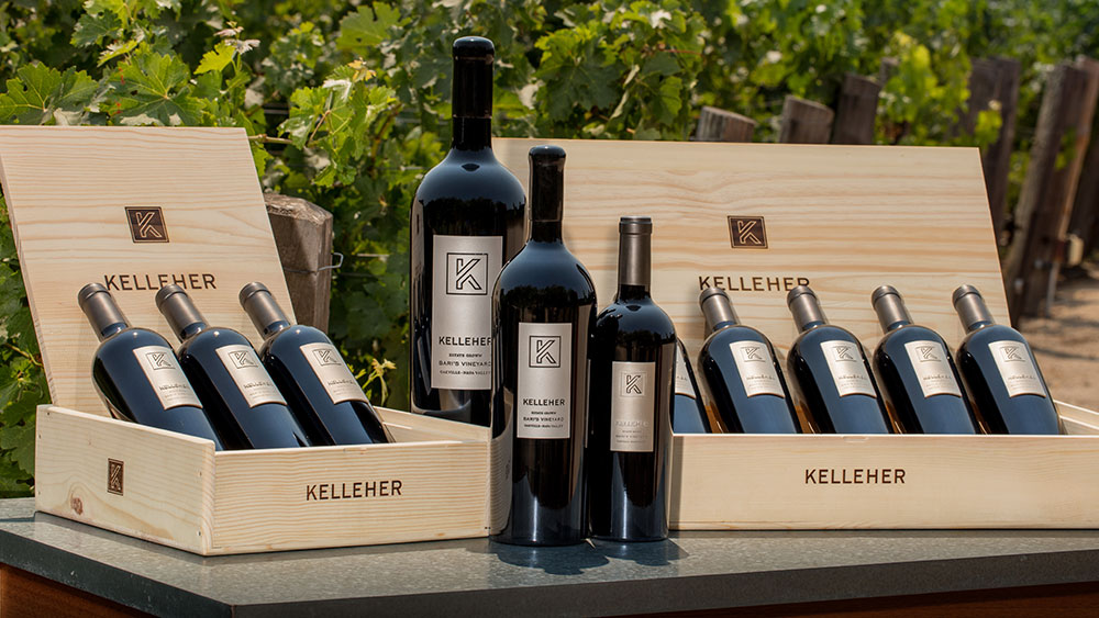 Kelleher Family Vineyards 2013 Bari's Vineyard Cabernet Sauvignon Oakville, Napa Valley