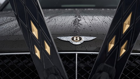 The Bomber for Bentley Ski & Drive Experience.