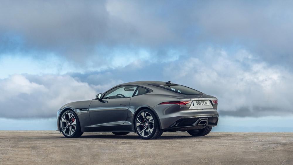 The 2021 Jaguar F-Type.