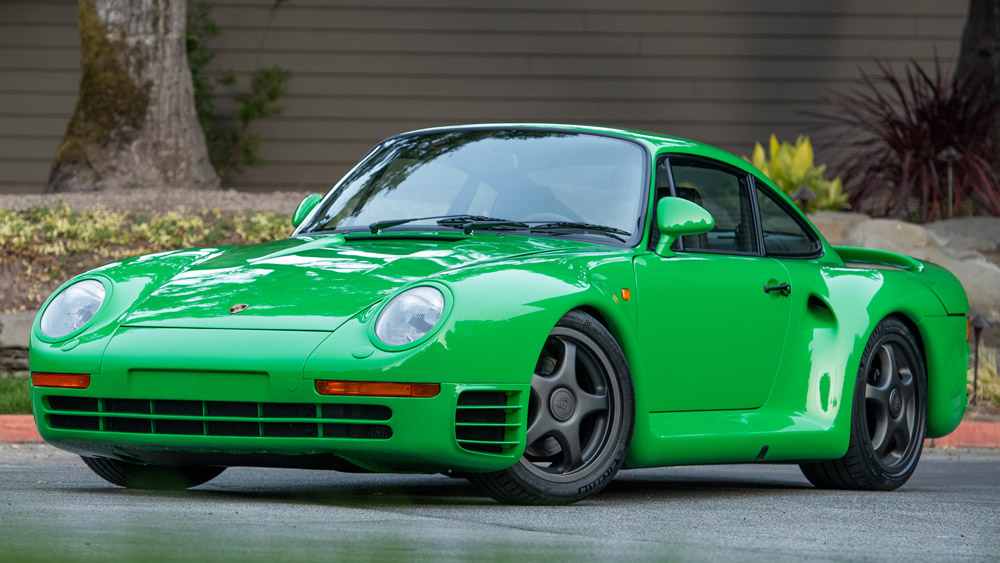An example of one of Bruce Canepa's Reimagined Porsche 959SC restomods.