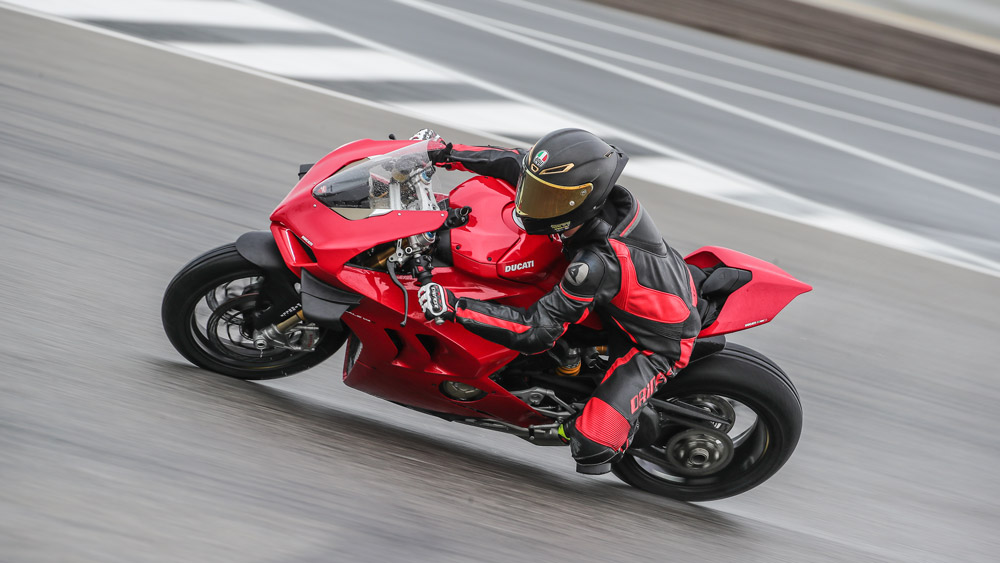The 2020 Ducati Panigale V4 S.