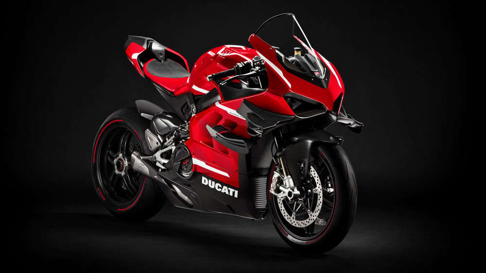 The Ducati Superleggera V4.