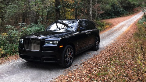 The Rolls-Royce Cullinan Black Badge.