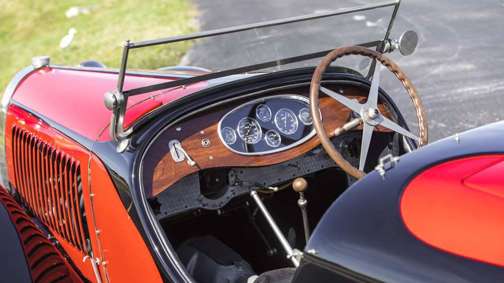 A 1932 Bugatti Type 55 Super Sport Roadster.