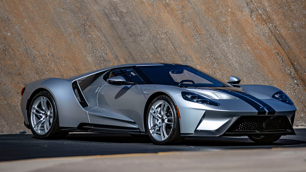 A 2017 Ford GT.