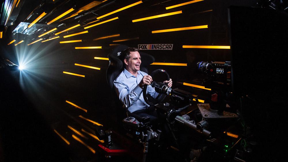 NASCAR's Hall-of-Fame racer Jeff Gordon.