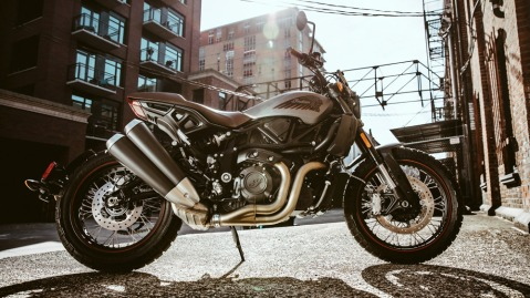Indian Motorcycle's 2020 FTR Rally.