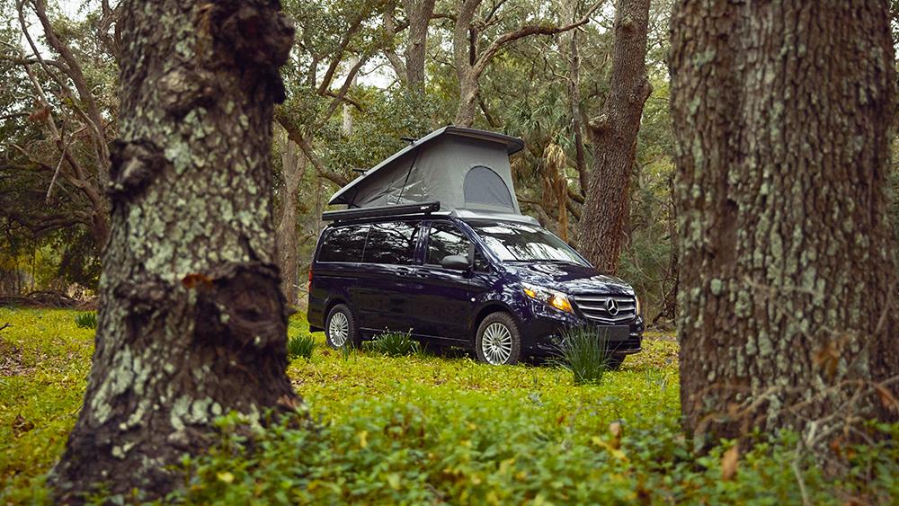 Mercedes Weekender Camper Van