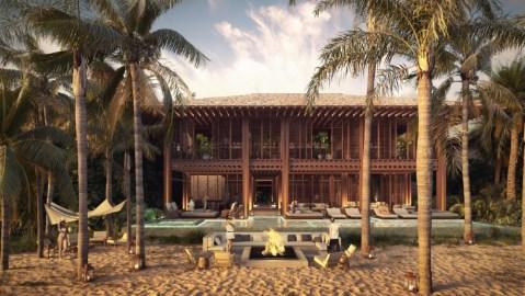 Rosewood Mayakoba beachfront residence real estate Mexico